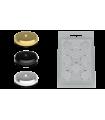 Audio Selection Bases protectoras Spikes y conos