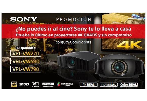 Videoproyectores 4K VPL-VW270, VPL-VW590 y VPL-VW790